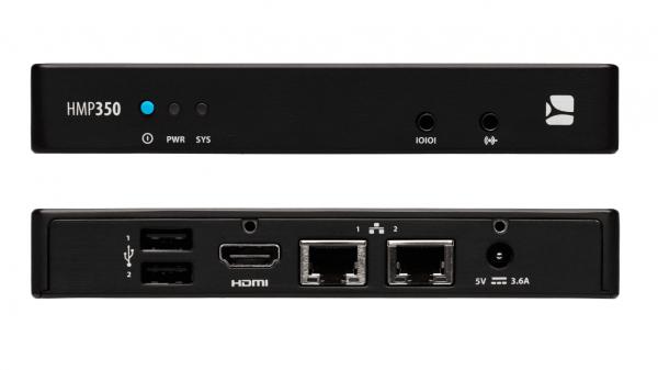 Интерфейсы медиаплеера HMP350