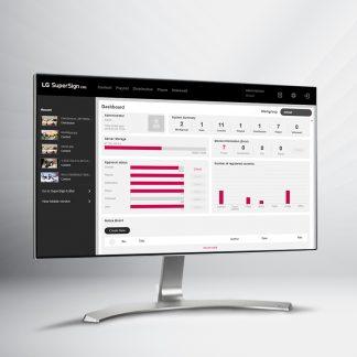 ПО для управления экранами LG SuperSign
