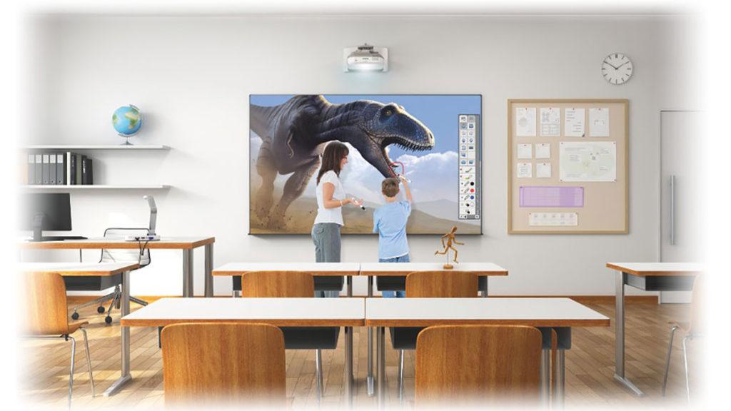 Проектор для школьного класса