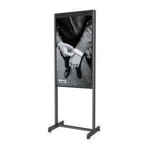 Колесная платформа для напольной стойки дисплея Samsung OM55N-D