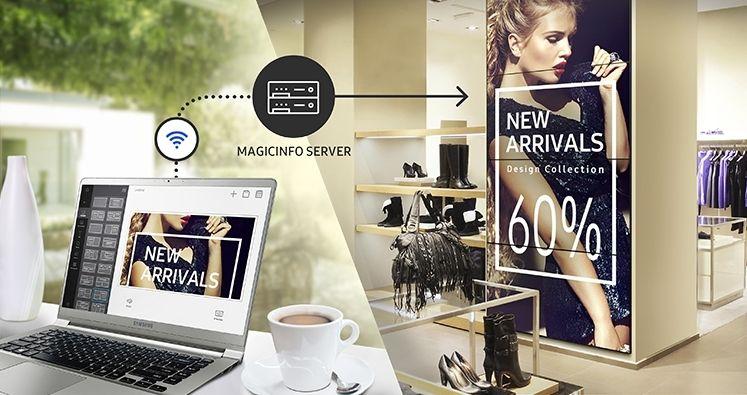 Система управления экранами Samsung MagicINFO