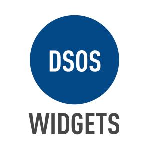 DSOS Widgets