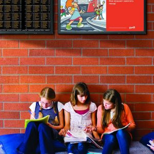 Экраны для образовательных учреждений