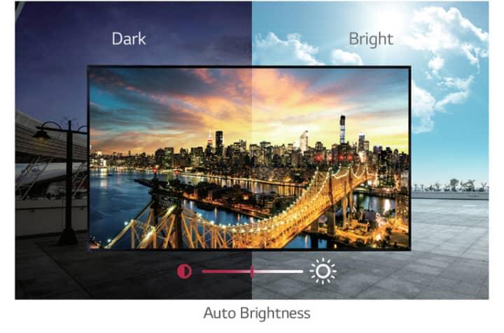 Видеоэкраны LG для витрин
