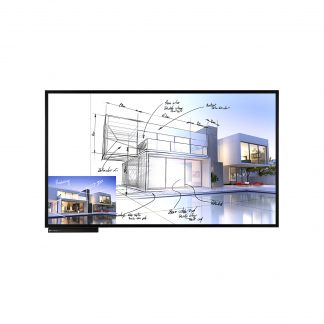 "LG 86TN3F | Интерактивная In-Cell сенсорная UHD панель 86"""