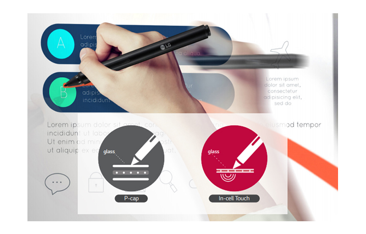 Интерактивная сенсорная панель LG