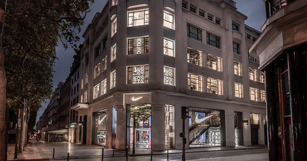 Дом инноваций Nike в Париже