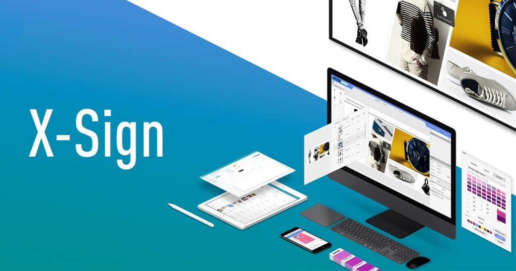 X-Sign - Простое создание и управление контентом на дисплеях BenQ