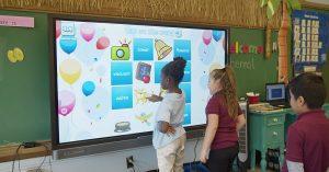 Интерактивная доска BenQ для школы