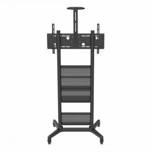 Wize Pro M75   Напольная стойка с колесами для дисплея весом до 120 кг