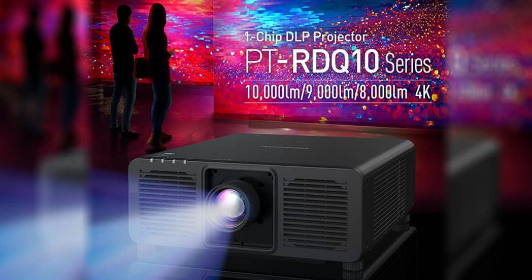 Серия лазерных DLP проекторов Panasonic PT-RDQ10 с разрешением 4К
